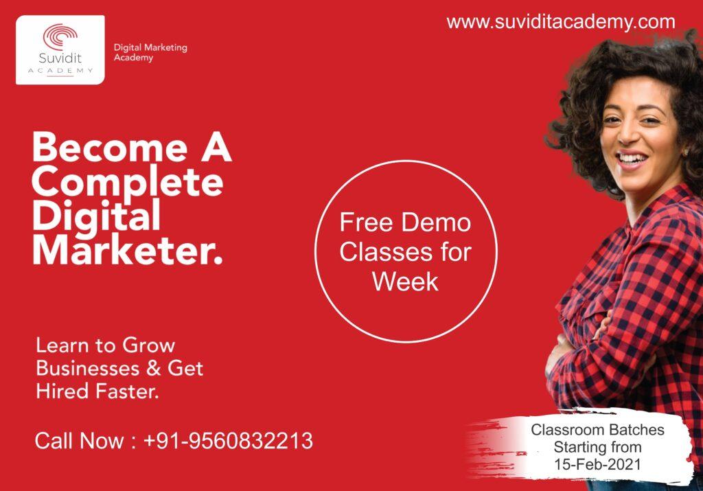 Free Digital Marketing Course Demo Class
